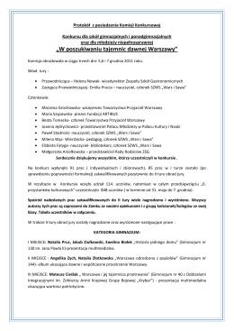 Tematy prac dyplomowych na rok akademicki 2015/2016 Inżynieria