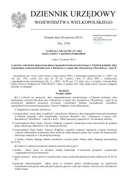 Uchwała Nr XXXVII/431/2010 w sprawie zmiany do Uchwały Nr XXV
