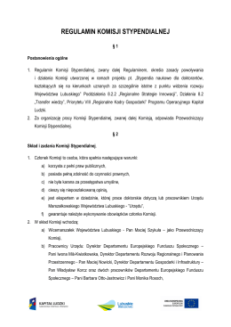 Sprawozdanie Komisji Rewizyjnej - Stowarzyszenie Dom Miłosierdzia
