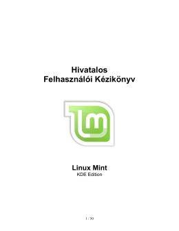 KDE - Linux Mint