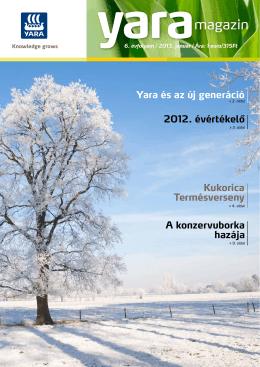 Yara Magazin 2013. január