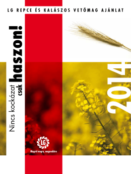 Repce és kalászos termékkatalógus 2014. pdf 2014-05-28
