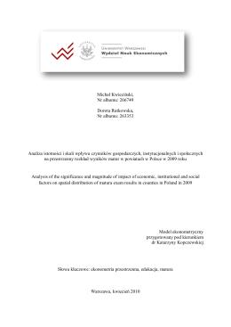 Możliwości pozyskania biomasy w powiecie olsztyńskim