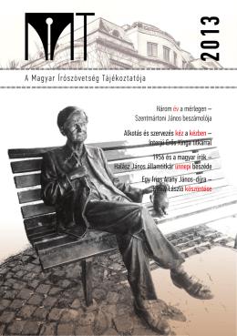 MIT_2013 - Magyar Írószövetség