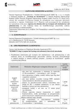 Szczegóły dotyczące egzaminu zawodowego z kwalifikacji 2015