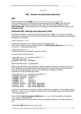 Wzór planu prezentacji maturalnej (Dokument nie może przekraczać
