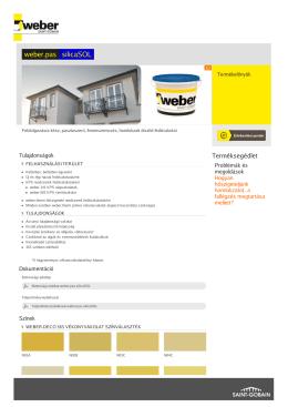 weber.pas silicaSOL - Weber - Weber