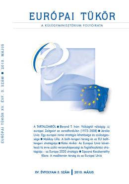 Európai Tükör 2010/05. szám