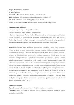 Ochrona fauny: podsumowanie inwentaryzacji i