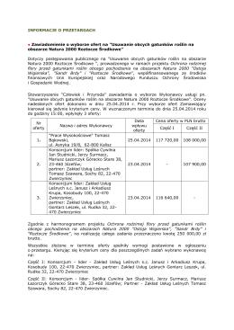 Benchmarking klastrów w Polsce – edycja 2012 Klastry
