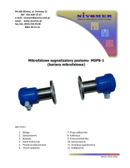 Czujnik poziomu cieczy 4 elektrodowy Typ CZP-4VDR2..