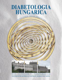 DIABETOLOGIA HUNGARICA - Magyar Diabetes Társaság