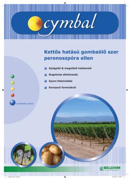Cymbal termékismertető - Belchim Crop Protection