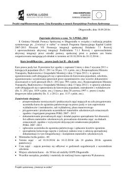 Umowa o sporządzeniu programu emisji obligacji