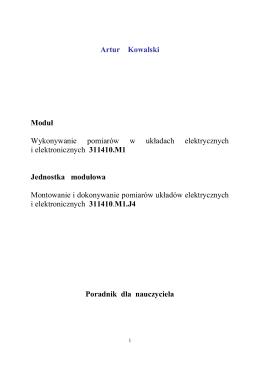Wybory do Sejmiku Województwa Ma³opolskiego