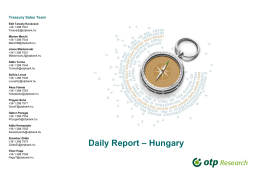 Daily Report – Hungary
