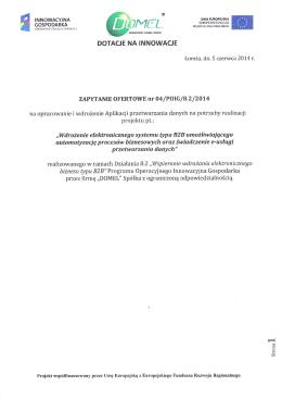 Raport roczny Uboat – Line S.A. za rok obrotowy 2013