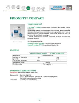FRIONETT® CONTACT