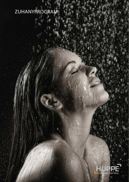 ZUHANYPROGRAM - Hüppe zuhanykabin