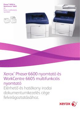 Prospektus - Phaser 6600 (PDF)
