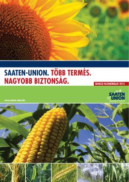 SAATEN-UNION Tavaszi Fajtakínálat 2015