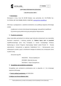 Informacja o zmianie zasady dokonywania zwrotów w ramach