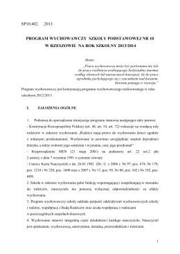Deklaracja w PDF - IV Kongres Polskich Towarzystw Naukowych na
