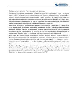 Joanna Nynca - Komitet Biologii Rozrodu