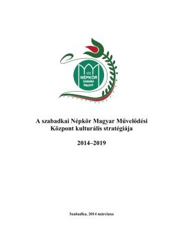 Népkör MMK Stratégia 2014-2019