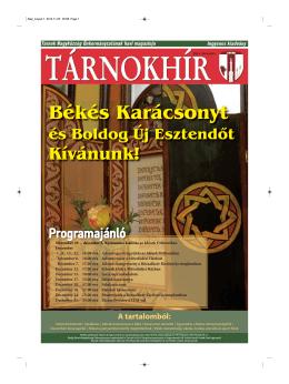 Tárnokhír decemberi