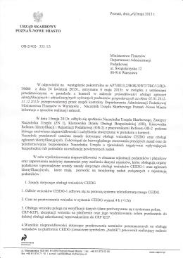 ZARZĄDZENIE nr 2/2015 Dyrektora Powiatowego Urzędu Pracy w