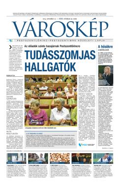 2014. 19. szám - Városgazda XVIII. Kerület Nonprofit Zrt.