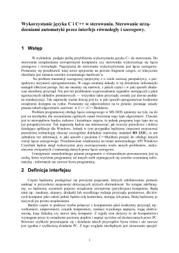 Karta katalogowa - Katalog automatyki