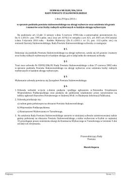 UCHWAŁA Nr XXV/ 138/2012 - Biuletyn Informacji Publicznej, Urząd