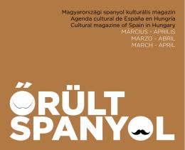 Agenda cultural de España en Hungría