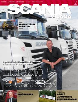 VILÁGA - Scania Hungária Kft