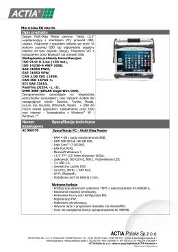 Karta katalogowa (pdf)