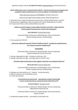 Tytuł/stopień naukowy, Imię i nazwisko