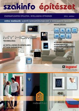 online kiadásunk - Szakinfo Építészet