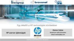 HP ISS szerver megoldások