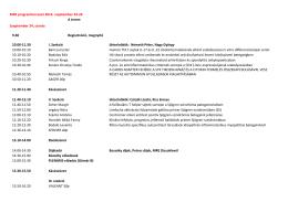 MRE programtervezet 2014. szeptember 24