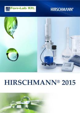 HIRSCHMANN® 2015 - Forr