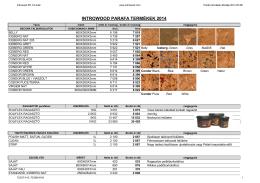Parafa árjegyzék 2014.05