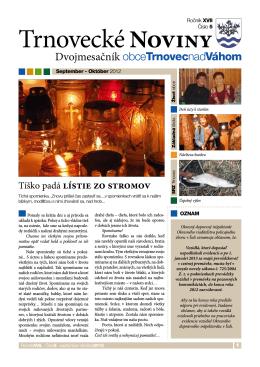 Tíško padá lístie zo stromov, výsledky SOBD 2011 v obci