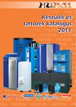 Készülék és tartozék katalógus 2011