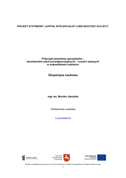 Program wyborczy kandydata na Prezesa Stowarzyszenia