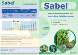 Kontakt hatású gyomirtó szer kukoricában és kalászosokban