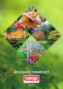MEGÚJULÓ TERMÉSZET