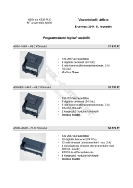 Kinco univerzális kijelző, PLC árlista - Dial-Comp