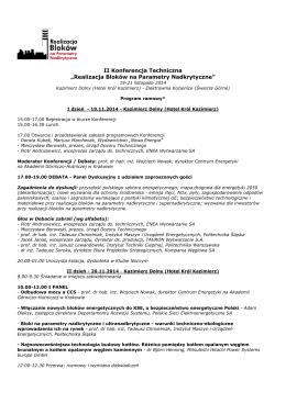 Blok Operacyjny - Szpital Wojewódzki im. Prymasa Kardynała